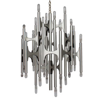 Gaetano Sciolari for Lightolier 36 Light Chandelier