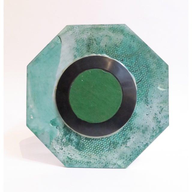 Plastic Malachite Lazy Susan Tray - Image 5 of 5