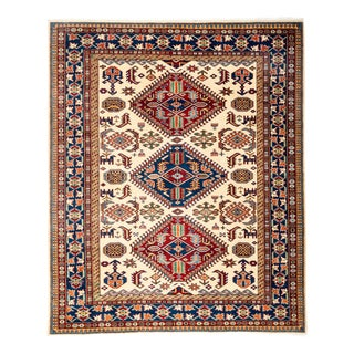 """New Traditional Hand Knotted Area Rug - 5'3"""" x 6'3"""""""