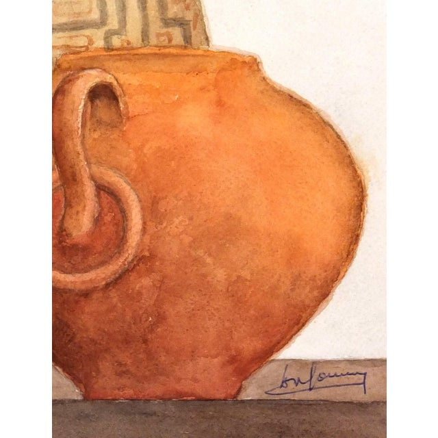 Image of Original Watercolor Painting by Henri Gommers