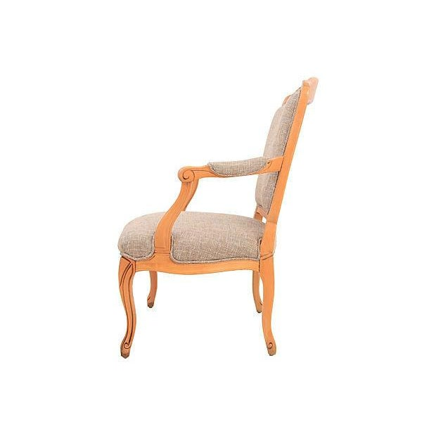 Louis XV-Style Granite Fauteuil - Image 3 of 7