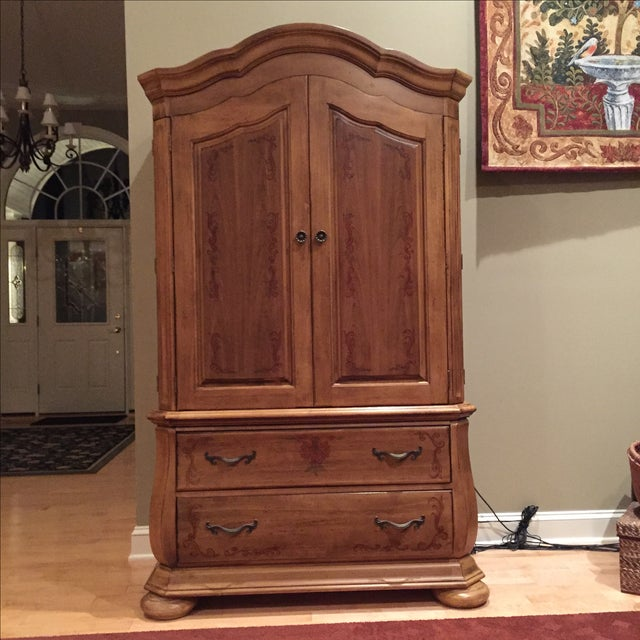 Hooker Entertainment Center / Armoire | Chairish