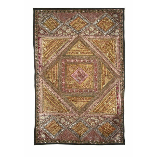 Gold and Pink Multi-Purpose Vintage Panel - Image 1 of 2