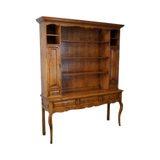 The Sterling Collection French Country Style Open Hutch