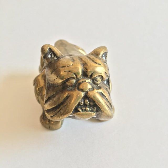 Brass Mini Bulldog - Image 3 of 5