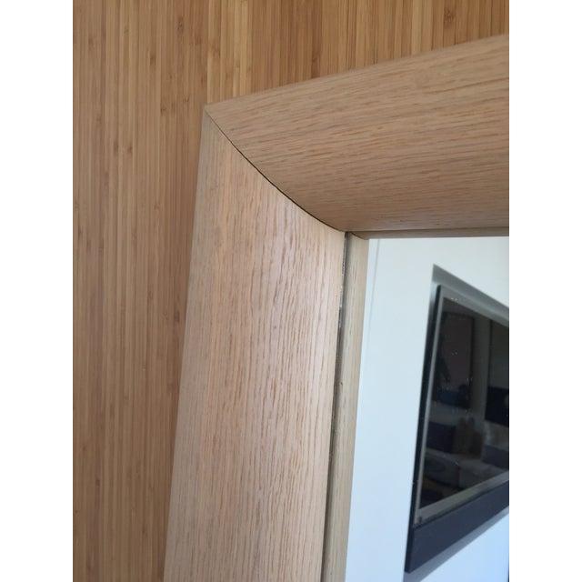 Ligne Roset Floor Standing Oak Frame Mirror - Image 5 of 9