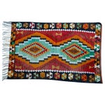 Image of Vintage Handmade Bohemian 3 X 5 Feet Kilim Rug