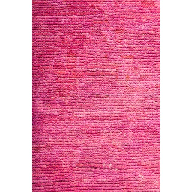 "Over-Dyed Hand Knotted Runner - 2'10"" X 9'6"" - Image 3 of 3"