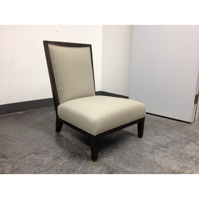 Contemporary Lorin Plain Lounge Chair - Image 3 of 9