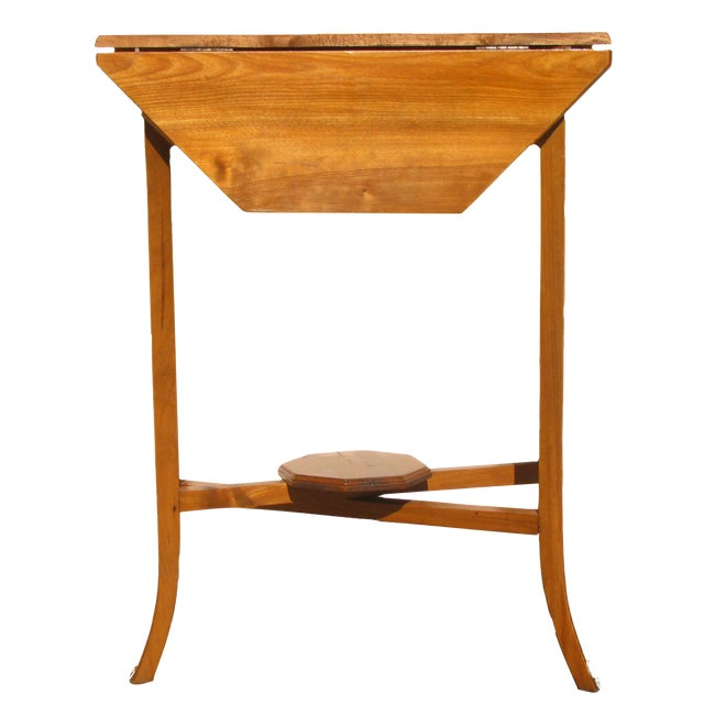 English Narrow Drop Leaf Table - Image 1 of 4