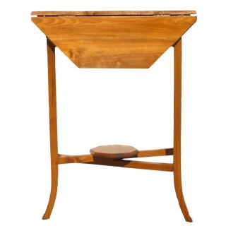English Narrow Drop Leaf Table