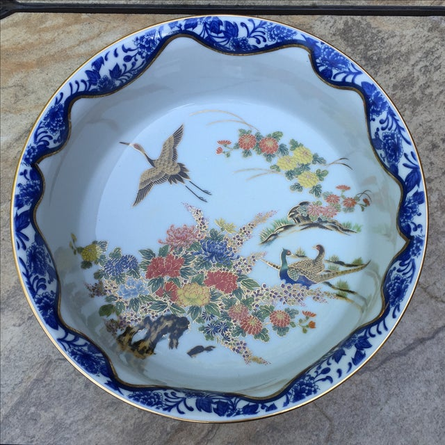 Chinoiserie Gold Leaf Bowl - Image 5 of 5