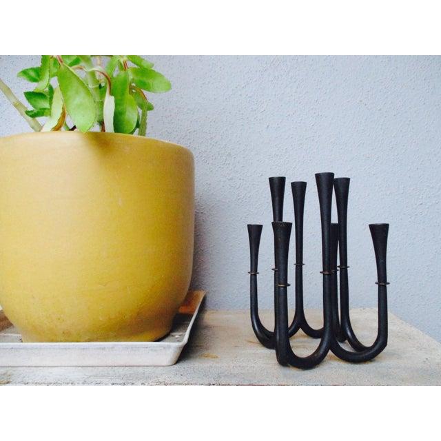 Dansk Denmark Quistgaard Danish Modern Candle Holder - Image 3 of 9