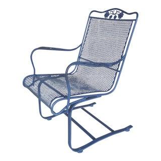 Vintage Woodard Briarwood High Back Spring Base Chair Model #1A052904