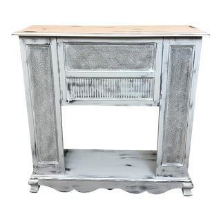 Distressed Fireplace Mantel