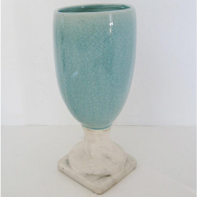 Ceramic Glazed Urn Vase - Image 5 of 6