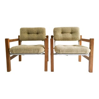 Mid-Century Danish Modern Lounge Chairs - A Pair