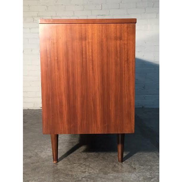 Walnut Mid-Century Danish Modern Dresser - Image 5 of 11
