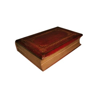 """""""Scott's Poetical Works"""" Illustrated Leather Bound"""