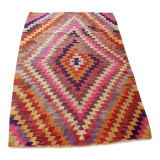 Oriental Turkish Kilim - 3.1 x 4.8