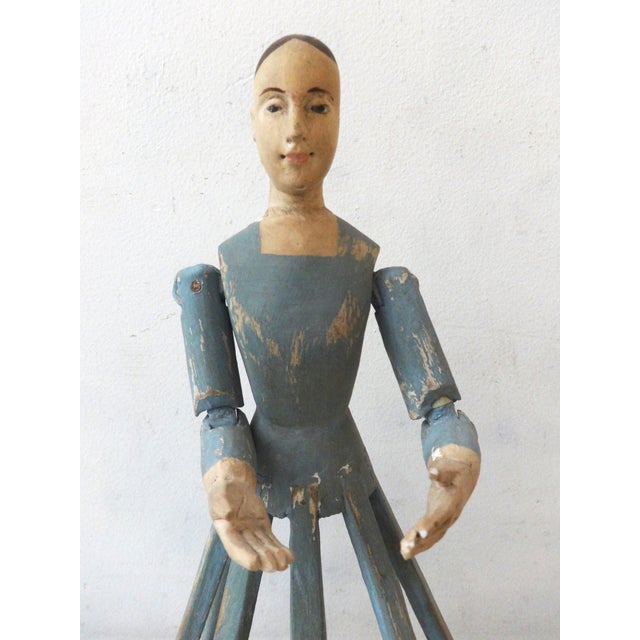 Hand Carved Wood Articulated Hands Doll/Mannequin - Image 3 of 6
