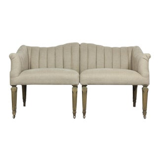 Sarreid Ltd Jewel Loveseat