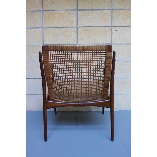 Kofod Larsen Cane Back Lounge Chair - Image 10 of 11