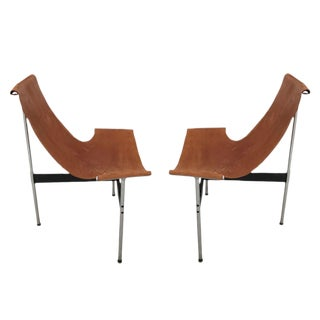 A pair of T Chairs William Katavolos and Ross Littell