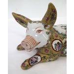 Image of Japanese Meiji Antique Porcelain Pig