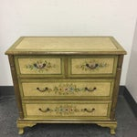 Image of Hand Painted Four Drawer Chest