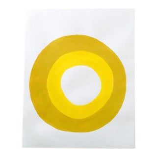 "Neicy Frey ""Dot No. 24, Squash"" Original Painting on Paper"