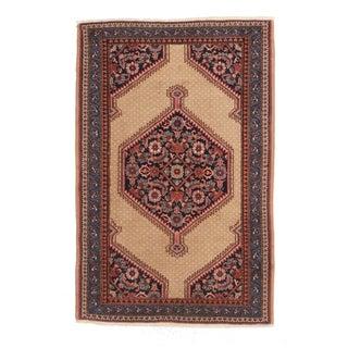 Unique Vintage Turkish Sivas Hand Knotted Wool Rug