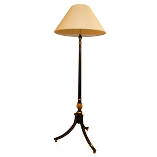 Hand-Painted Lacquer Floor Lamp