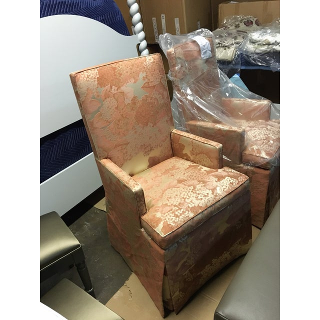 Image of Head Dining Chairs - A Pair