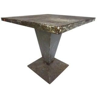 Tolix Garden Table