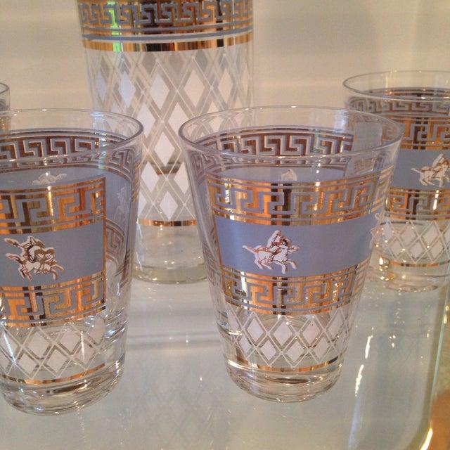 Mid-Century Greek Cocktail Glasses - Set of 6 - Image 3 of 6