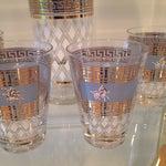 Image of Mid-Century Greek Cocktail Glasses - Set of 6