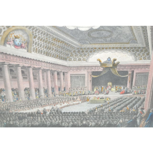 Image of 19th Century Hand Colored Opera Etching