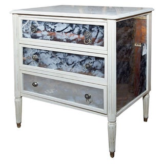 Marble Top French Directoire Style Commode