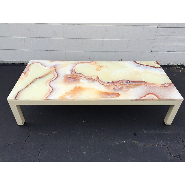 Onyx Parsons Coffee Table - Image 2 of 11