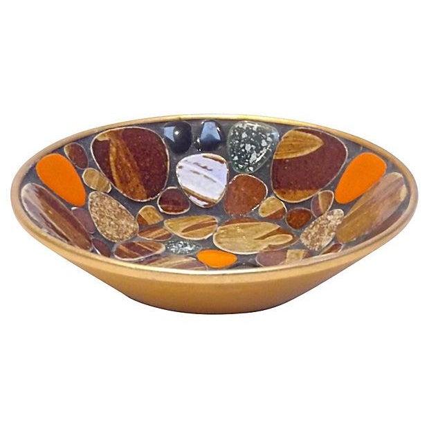 Image of Mid-Century Modern Mosaic Tile Dish