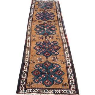 """Antique Persian Heriz Runner - 2'8"""" X 8'7"""""""
