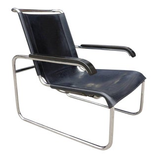 Midcentury Marcel Breuer B35 Lounge Chair for Thonet
