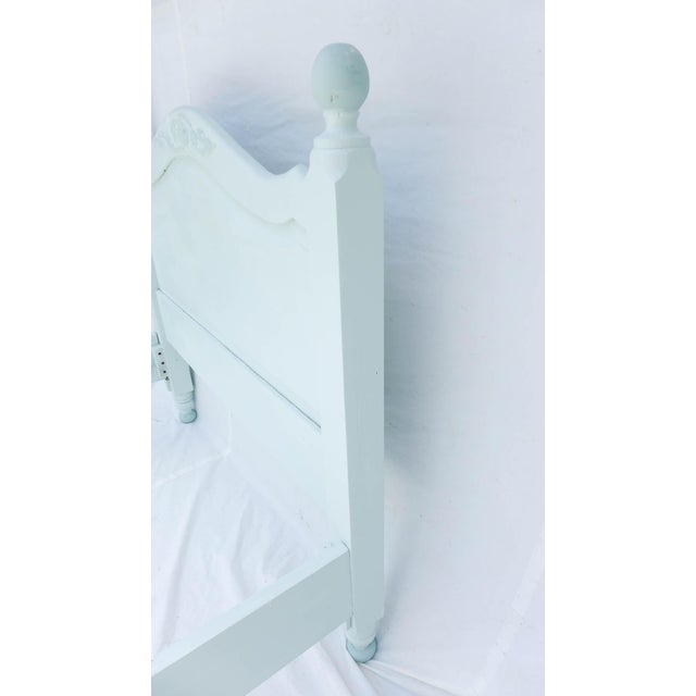 Wide Board Pine Painted Cottage Full Size Bedframe - Image 8 of 8