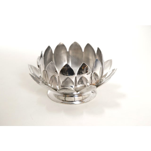 Reed & Barton Silver Flower Holders - Set of 3 - Image 5 of 7