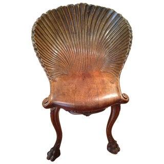 19th Century Venetian Grotto Music Chair