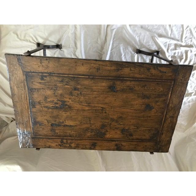 Wood & Iron Coffee Table - Image 7 of 7
