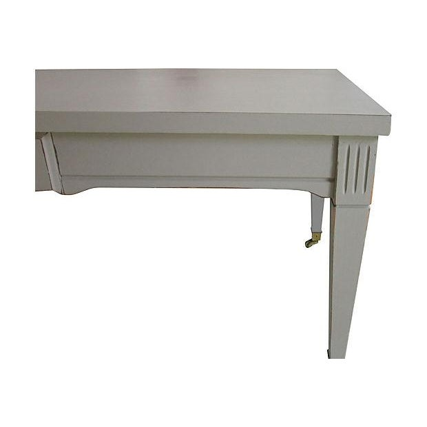 Mid-Century Coffee Table on Casters - Image 3 of 5