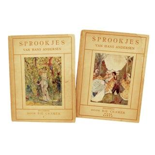 1915 Art Nouveau Fairy Tale Books - Set of 2