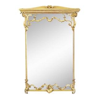 Italian Style Gilt Carved Framed Mirror